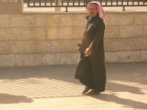 Житель Дамаска / Фото из Сирии
