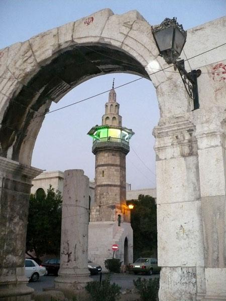 Вечер в Дамаске / Фото из Сирии