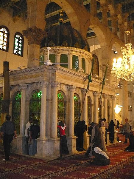 Гробница Иоанна Крестителя / Фото из Сирии