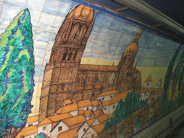 Станция метро, Буэнос-Айрес / Фото из Аргентины