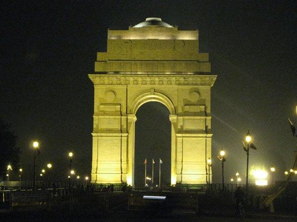 Вечерний Дели / Фото из Индии