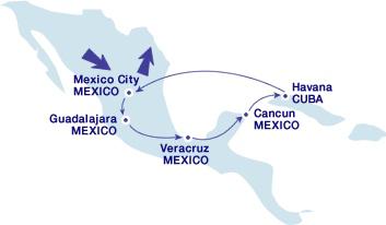 Проездной по Мексике и Центральной Америке