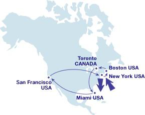 Проездной по Северной Америке