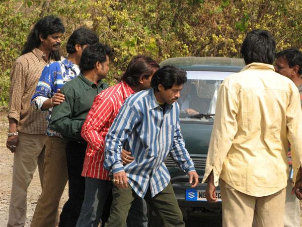 Репетиции актеров / Фото из Индии