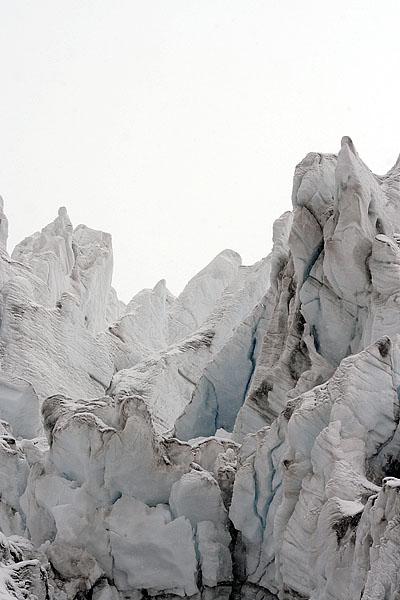 Ледовые сбросы Каямбе / Фото из Эквадора