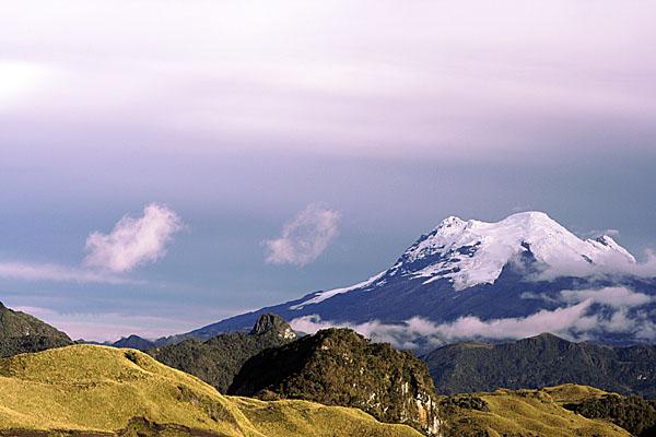 Вулкан Антисана, Эквадор / Фото из Эквадора