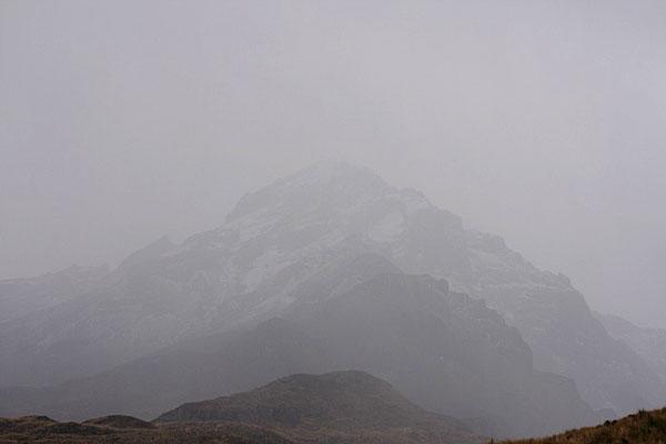 Вулкан Котакачи - вершины не видно / Фото из Эквадора