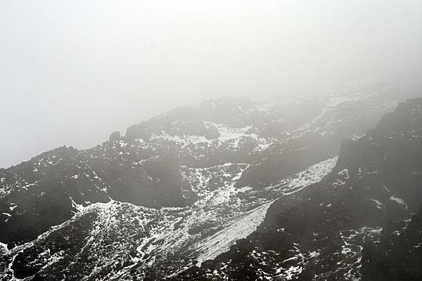 Еще пять минут назад здесь не было снега / Фото из Эквадора