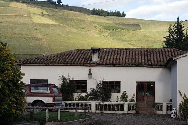 Домик гасиенды / Фото из Эквадора