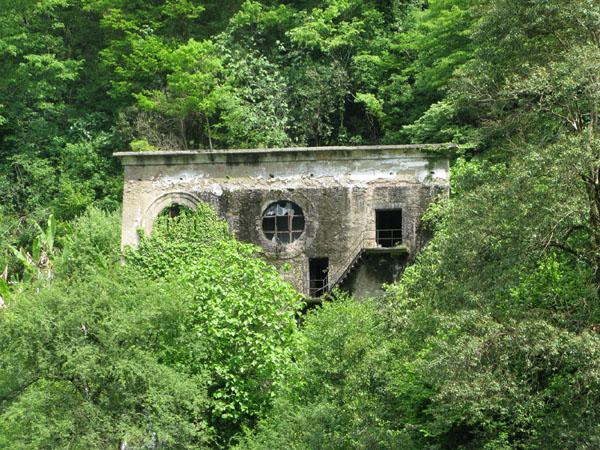 Брошенные дома - типичные виды Абхазии / Фото из Абхазии