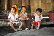 дети племени каренов / Камбоджа