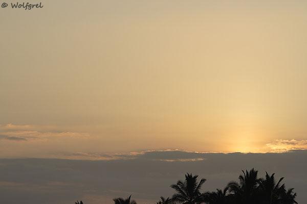 Закат над Галапагосскими островами / Фото из Эквадора