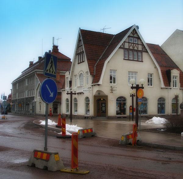 Мура - наша первая остановка в Даларне / Фото из Швеции