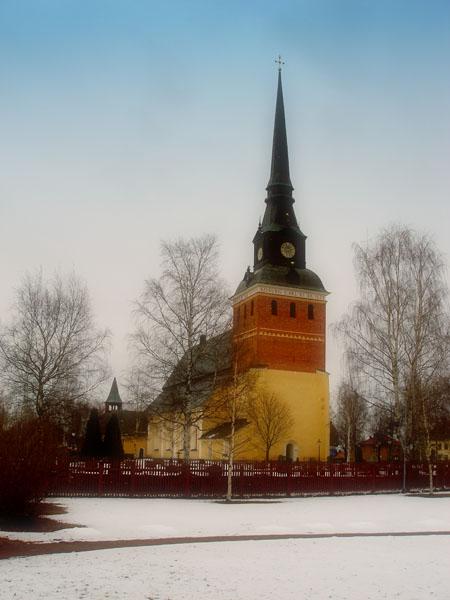 Старинный собор - одна из достопримечательностей города / Фото из Швеции
