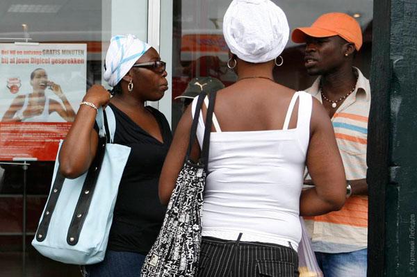 Жители столицы Суринама / Фото из Суринама