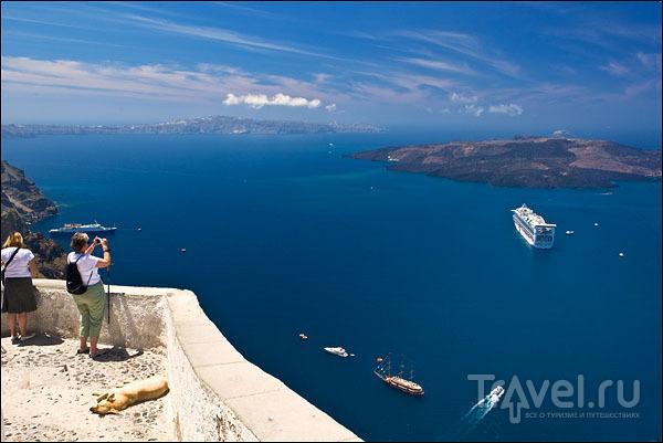 Смотровая площадка в Тире / Фото из Греции