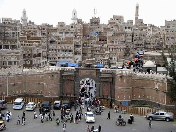 Йеменские ворота, Сана / Фото из Йемена