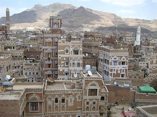 Cана - столица Йемена / Фото из Йемена