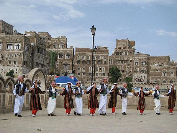 Национальные танцы в Сане / Фото из Йемена
