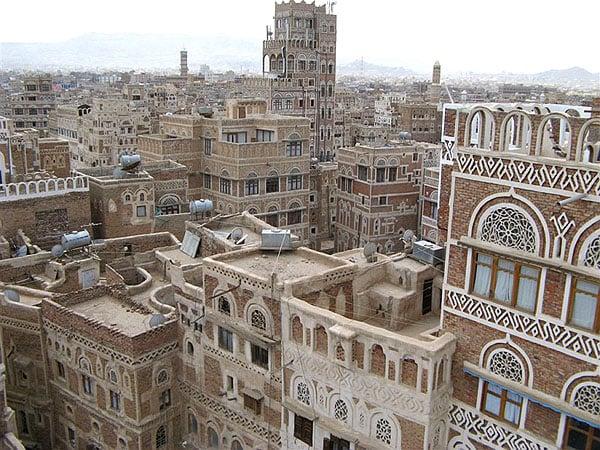 Крыши Саны, Йемен / Фото из Йемена