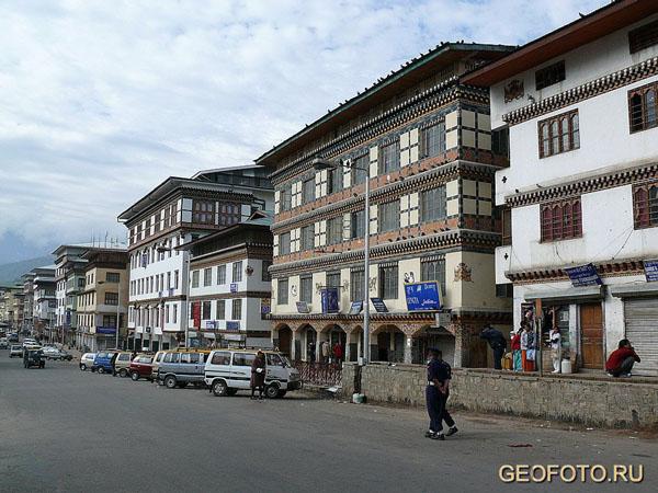 Тхимпху – столица Бутана / Фото из Бутана