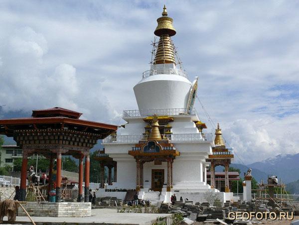 Национальный мемориальный чортен  / Фото из Бутана
