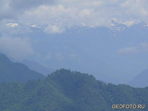 Бутанские Гималаи / Фото из Бутана