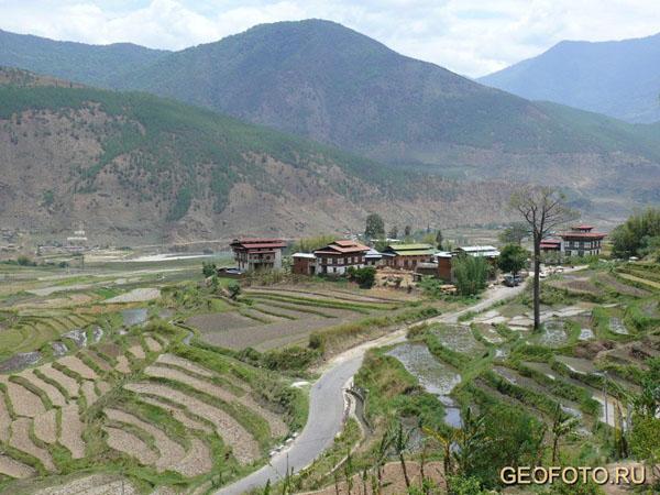 Пейзажи Бутана / Фото из Бутана