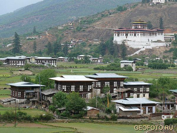 Город Паро / Фото из Бутана