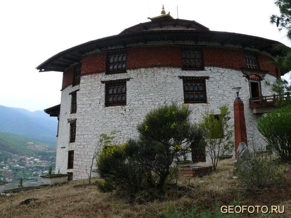 Национальный музей Бутана / Фото из Бутана