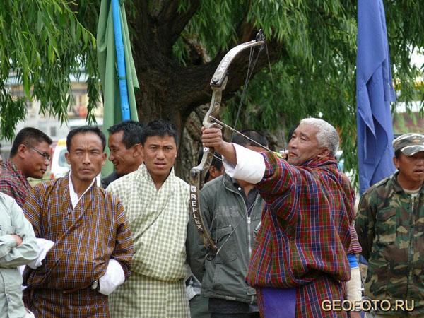 Попадет… не попадет? / Фото из Бутана