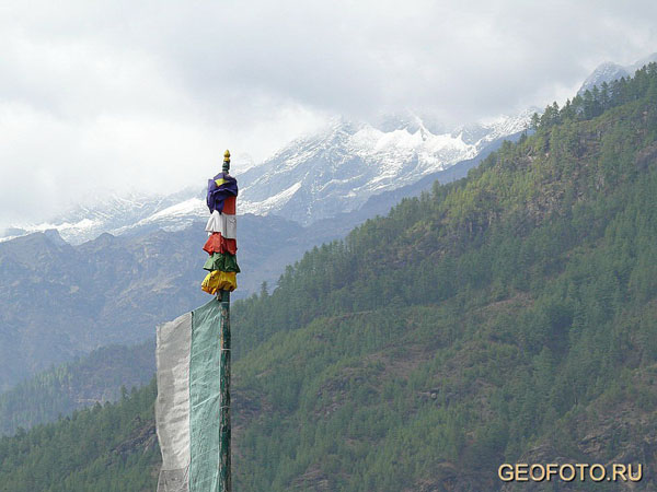 Гималаи / Фото из Бутана