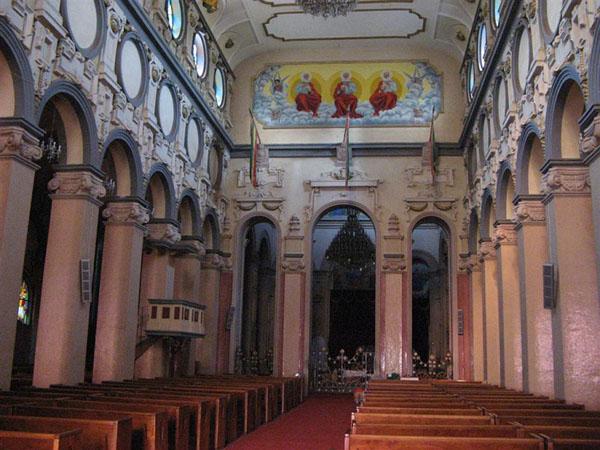 Интерьер собора в Аддис-Абебе / Фото из Эфиопии