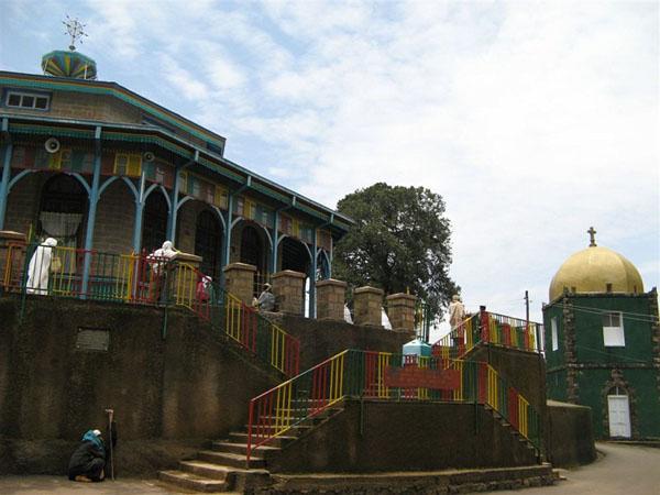 Церковь в Эфиопии / Фото из Эфиопии