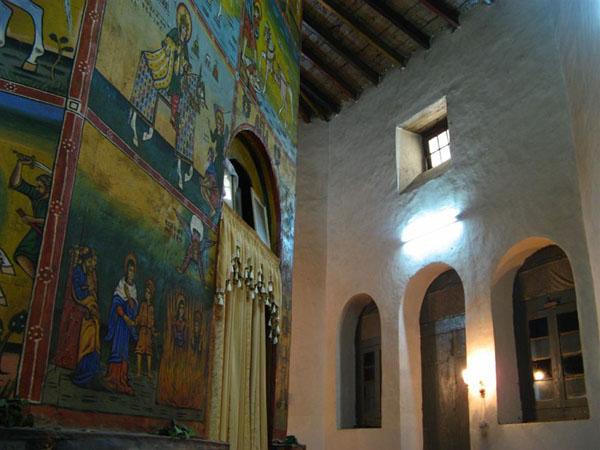 Церкви и музей расположены недалеко от столицы / Фото из Эфиопии