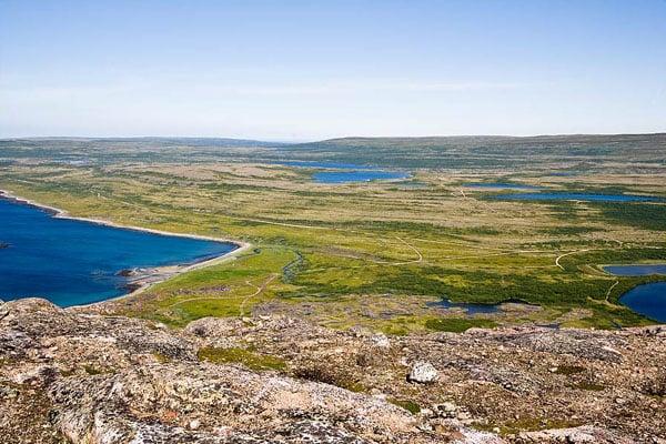 На вершине хребта Муста-Тунтури / Фото из России