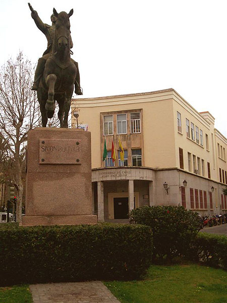 Памятник в Кадисе, Испания / Фото из Марокко