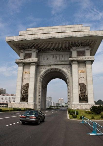Триумфальная арка, Пхеньян / Фото из Северной Кореи