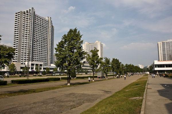 Пхеньян - столица Северной Кореи / Фото из Северной Кореи