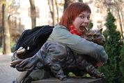 памятник коту / Украина