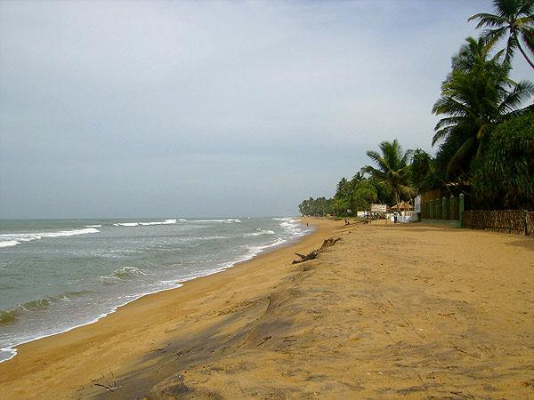 Вид побережья, Шри-Ланка / Фото со Шри-Ланки