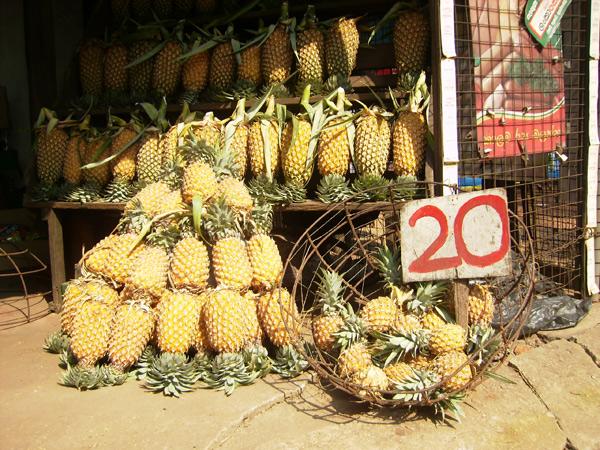 На улице практически даром можно купить фрукты / Фото со Шри-Ланки