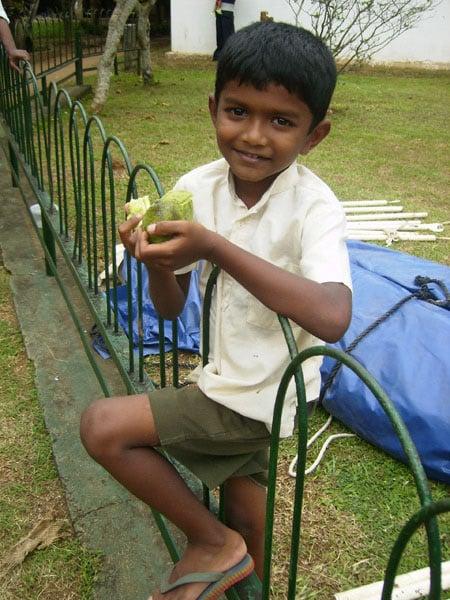 Юный сингал, Шри-Ланка / Фото со Шри-Ланки