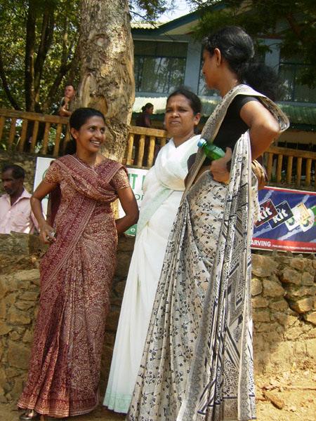 Тамильские девушки, Шри-Ланка / Фото со Шри-Ланки