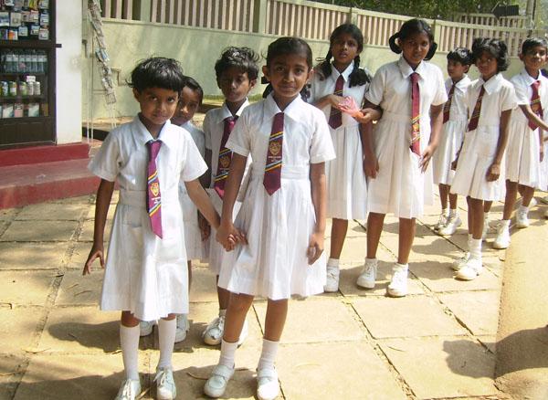 Школьницы, Шри-Ланка / Фото со Шри-Ланки