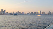 Токио с реки Сумида / Япония