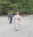 участник парада Эпох, Киото / Япония