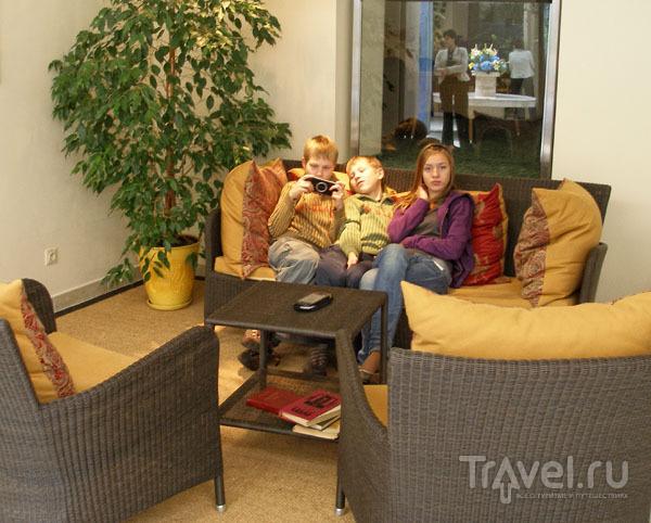 В отеле все предусмотрено для работы и отдыха / Фото из Литвы
