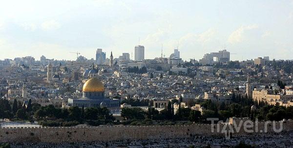 Вид на Иерусалим, Израиль / Фото из Израиля