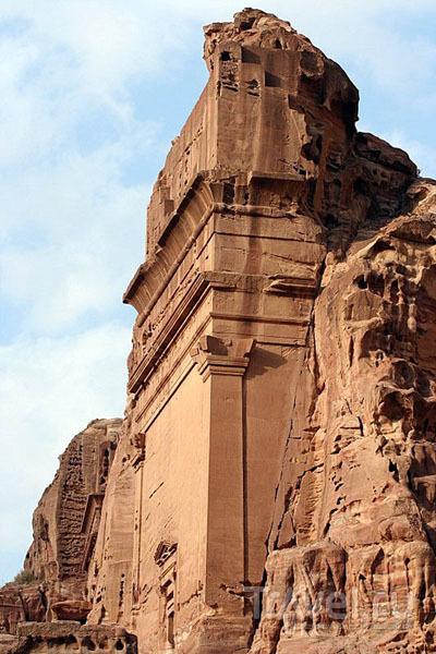 В древнем городе Петра, Иордания / Фото из Израиля